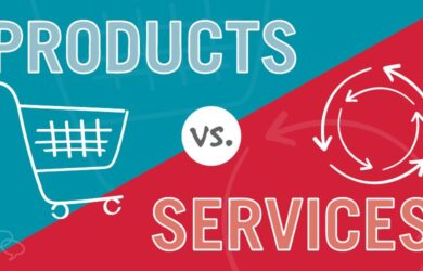 Difference between Product and Service